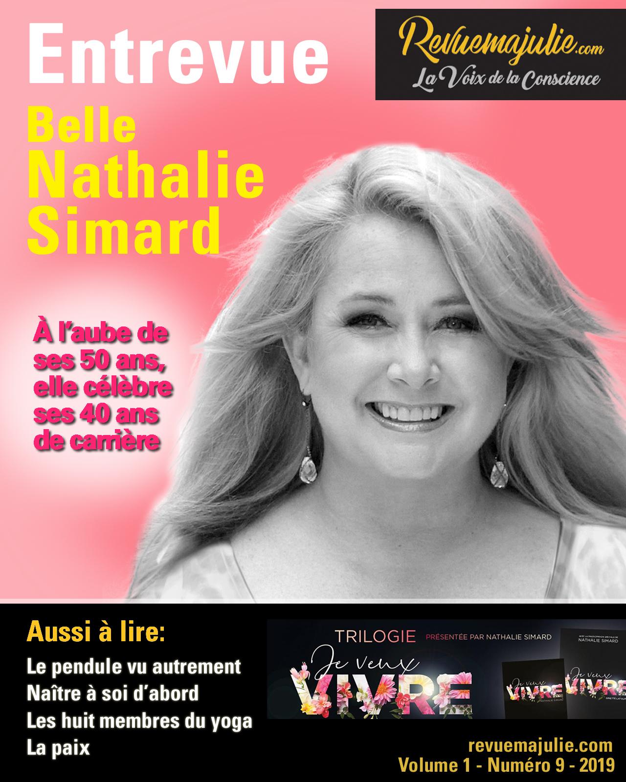 revue ma julie Nathalie Simard