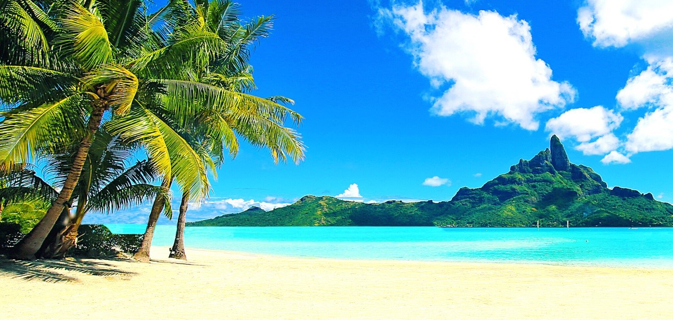 Bora Bora, Polynésie française, Matira Beach