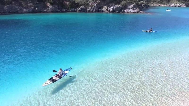 Turquie, Oludeniz Beach Blue Lagoon