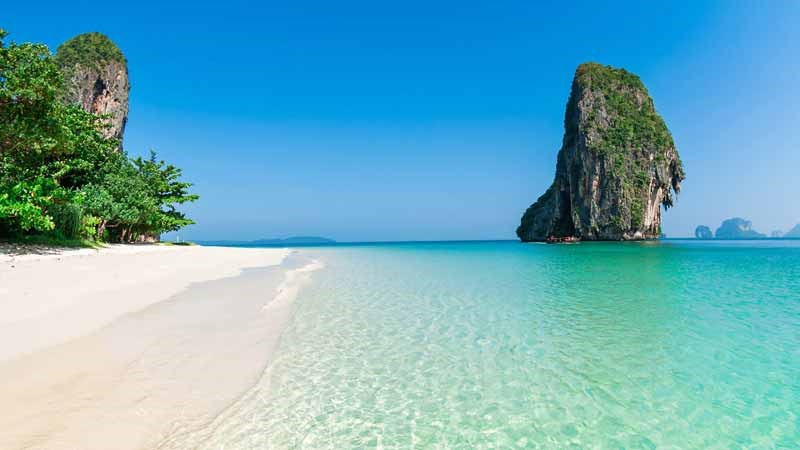 Thailande, Krabi Beach